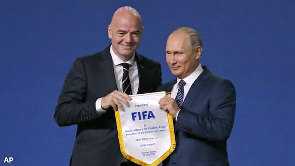 ロシア、W杯が隠す真の姿