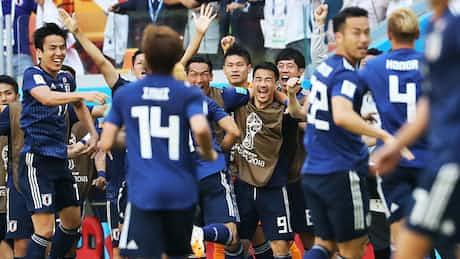 監督の信念と選手の奮闘 日本、堂々の勝ち点3
