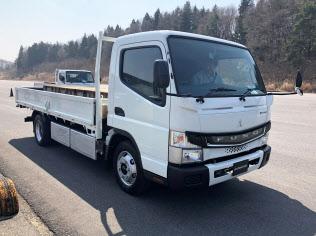 三菱ふそうの電気トラック「eキャンター」には一部機能を搭載済み