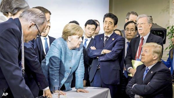 中国の無責任許すG7