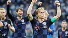 クロアチアが20年ぶり決勝Tへ アルゼンチン破る