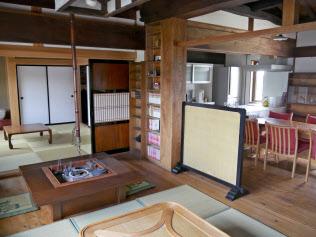 長谷川工務店は古民家風のモデルルームを民泊に登録した