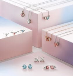 人工ダイヤは値ごろ感があり若者に人気がある