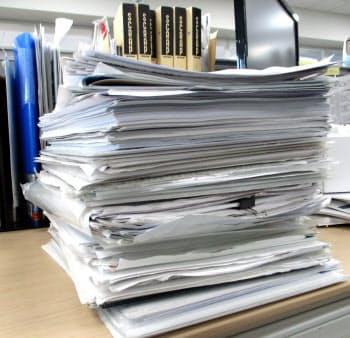 書類は頻度に応じて3分類して保存・保管するといい