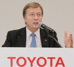 トヨタ自動車のディディエ・ルロワ副社長