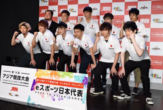 アジア競技大会に向けて、11人の日本代表選手のうち3人が本戦出場を決めた(写真は5月に都内で開かれた国内予選)