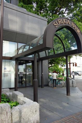 スルガ銀はシェアハウス運営の支援に乗り出す(静岡県沼津市の店舗)