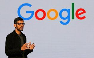 米グーグルのスンダー・ピチャイ最高経営責任者(CEO)