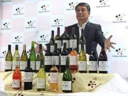 代野照幸社長は「日本ワインは起爆剤の一つとなる可能性がある」と話した(28日、東京都千代田区)