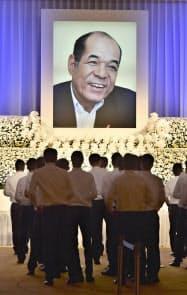 広島市で催された衣笠祥雄さんの「お別れの会」(28日午前)=共同