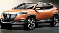 ビングループが発表した新車のデザインのひとつ