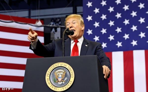 トランプ大統領の大型減税も追い風に、米経済は活況を呈しているが=ロイター
