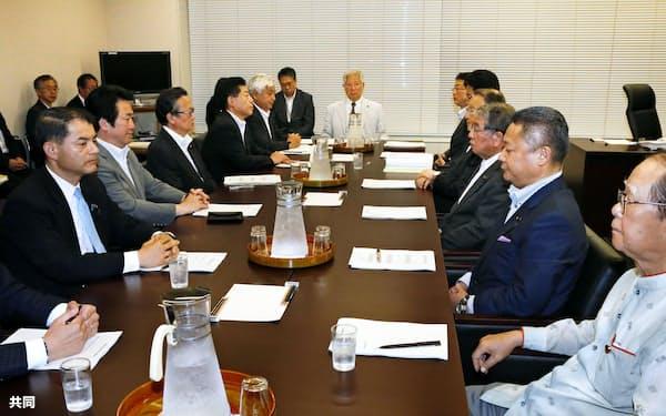 衆院憲法審査会の幹事懇談会(6月6日)=共同