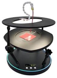豊田合成が開発した医療シミュレーター「SuperBEAT」のプロトタイプ