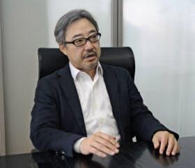 中野慎三社長は「日本の産業構造の変革をスタートアップ業界から促したい」と話す