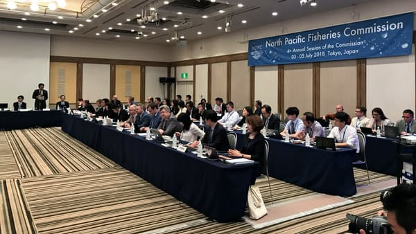 サンマの漁獲規制巡り攻防、国際会議が開幕