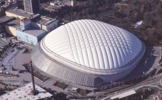 東京ドームはプロ野球のシーズンオフとなる1月が決算期