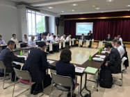 JR釧網線の活用を話し合ったJR釧網本線維持活性化沿線協議会(3日、北海道弟子屈町)