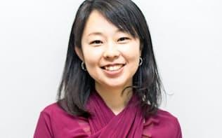河野理愛社長 2001年、慶大在学中にNPO法人を立ち上げ、スポーツ関連事業を手がける。05年、ソニー入社。11年、ディー・エヌ・エー(DeNA)入社。13年、コグニティ設立。