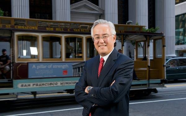 田中正明氏はユニオン・バンク頭取時代、ユダヤ系の人権擁護団体から金融業を通じた地域社会への「多様性維持・拡大」の貢献で表彰された