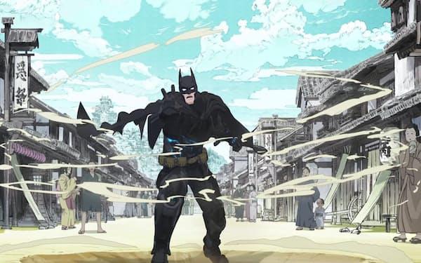 バットマン(声・山寺宏一)が日本の戦国時代にタイムスリップする(公開中/ワーナー・ブラザース映画配給) BATMAN and all related characters and elements (C)&TM DC Comics.(C)2018 Warner Bros.Entertainment All rights reserved.