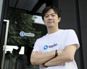 長谷川潤社長 2009年、ブログサービス「LIFEmee」で起業。13年 タイに拠点を移し、オミセHDを電子商取引(EC)事業として創業。14年、主力事業を決済システム開発に変更