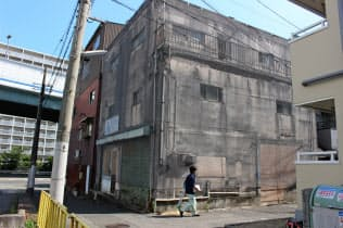 都市部でも現在の所有者が把握できない物件がある(神戸市中央区)