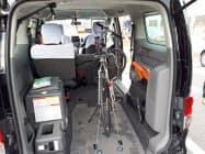 自転車をまるごと積み込める近江タクシーの「自転車まるごとタクシー」