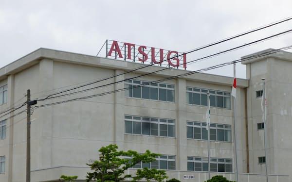 アツギ子会社のアツギ東北むつ事業所(青森県むつ市)。ここで弘前大との共同研究から生まれる開発製品を生産する
