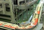 業務用米を安定調達する(新潟県聖籠町の東港工場)