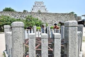 姫路城内にあるお菊井戸(兵庫県姫路市)