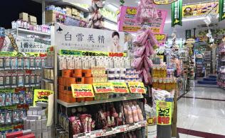 ドン・キホーテは飽きの来ない店づくりが既存店売上高を押し上げる(札幌市の狸小路店)