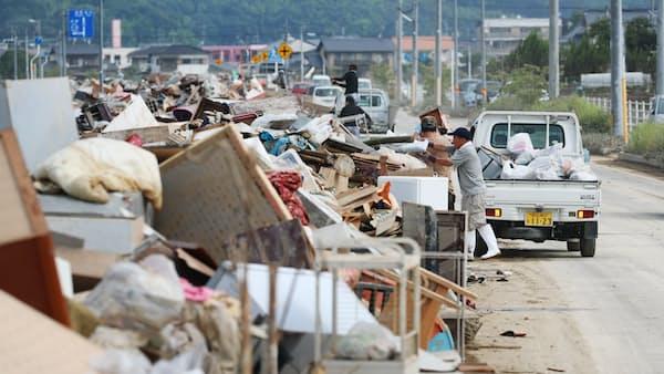 西日本豪雨被災企業に金融支援 首相表明