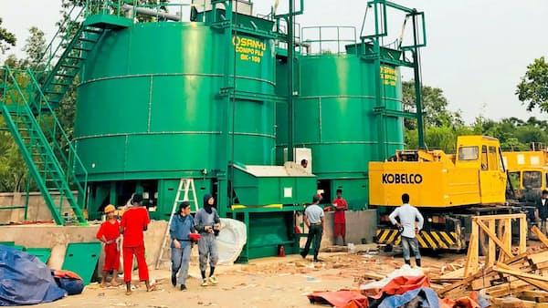 三友機器、高速堆肥化装置をアジアに拡販