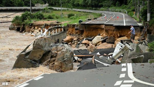 大洪水、AIで予測 日本工営がシステム開発