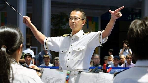 命のタクト、病と闘う 愛知県警音楽隊長の米田一幸さん