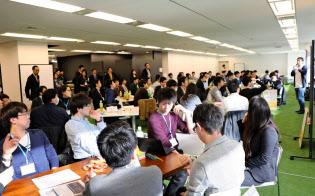 パーソルキャリアはインターン候補の学生と企業をマッチングするイベントの定期開催を始める