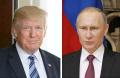 トランプ米大統領(ゲッティ共同)とロシアのプーチン大統領