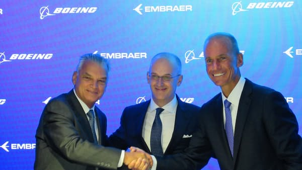 ボーイングCEO「顧客に多くの選択肢」 小型機事業買収で