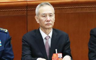 中国の劉鶴副首相氏