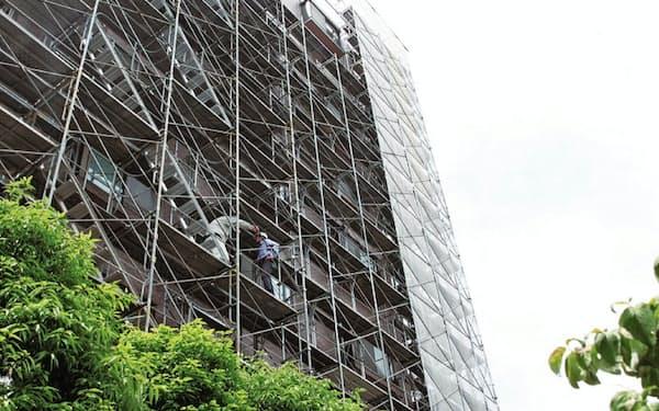 大規模修繕に必要な人材は新築ビル工事の案件でも求められている