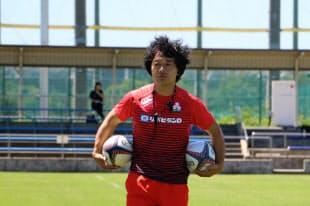 男女日本代表総監督の岩渕氏=日本ラグビー協会提供