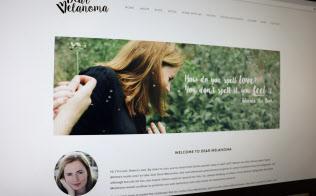 エマさんの「ディア・メラノーマ」のサイト