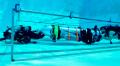 マスク氏らが洞窟からの救出用に開発した小型潜水艇=マスク氏のツイッターより
