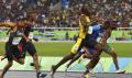 リオ五輪の陸上男子100メートル決勝(2016年8月)=ロイター