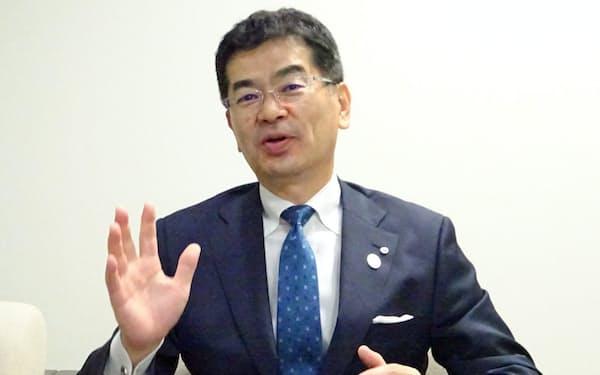 NTT西日本の小林充佳社長
