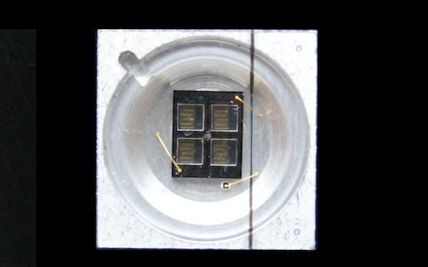 ナイトライドが製造に関する特許権を持つと主張している紫外線LED