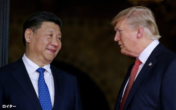 米中間で貿易紛争が本格化している=ロイター