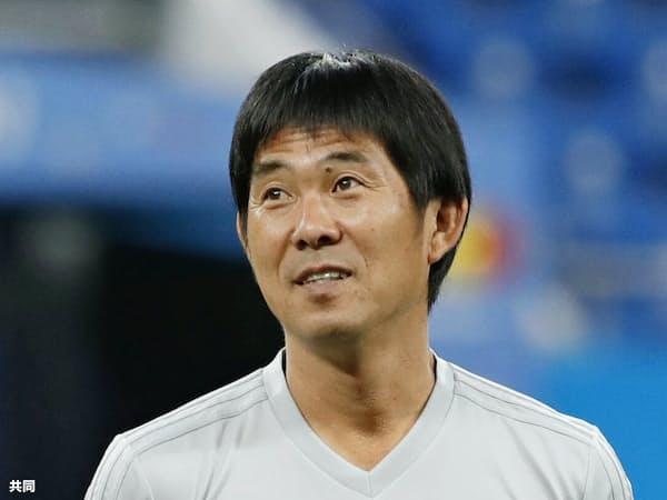 サッカー日本代表コーチで、東京五輪男子代表監督の森保一氏=共同