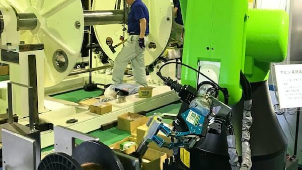中小企業のロボット導入支援、関西で広がる